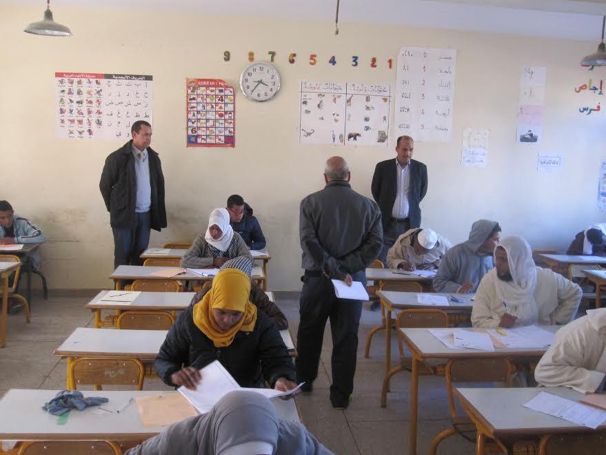 انطلاق الامتحانات  الإشهادية الجهوية بالثانوي الإعدادي بمديرية زاكورة-0