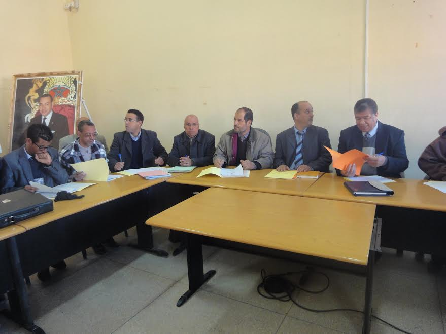 تجديد مكتب فرع جمعية تنمية التعاون المدرسي بزاكورة-1