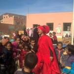 جمعية الفينيق للإبداع الفني والثقافي بزاكورة تنظم ورشا فنيا تربويا بمدرسة الحد بتمزموط