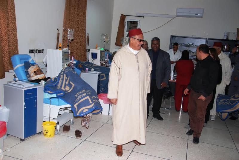 زيارة عامل إقليم لزاكورة للمستشفى الإقليمي