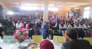 لقاء تواصلي حقوقي بثانوية سيدي صالح التأهيلية بتاكونيت لفائدة المتعلمات عن ظاهرة زواج القاصرات وعلاقته بالهدر المدرسي