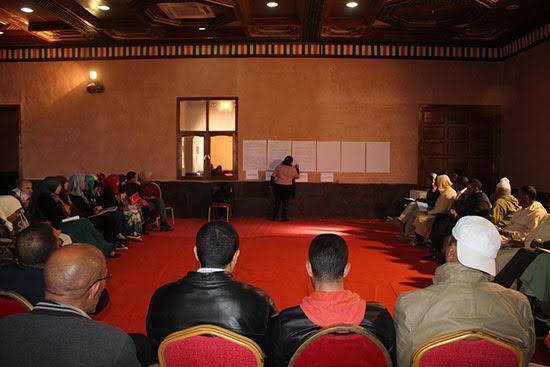 الجمعية الديمقراطية لنساء المغرب تنظم لقاءات إقليمية لفائدة 10 جماعات بجهة درعة تافيلالت -1