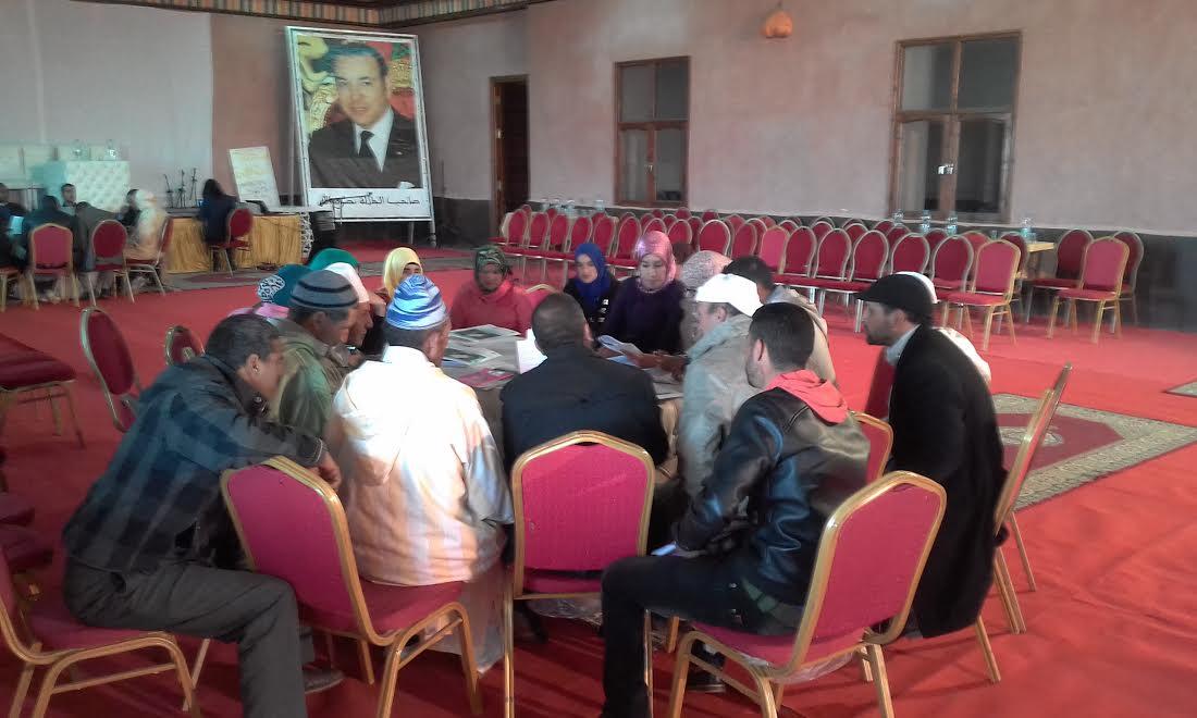 الجمعية الديمقراطية لنساء المغرب تنظم لقاءات إقليمية لفائدة 10 جماعات بجهة درعة تافيلالت -3