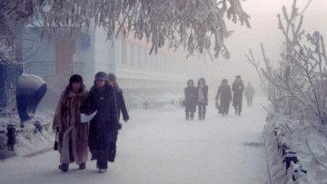 انخفاض درجات الحرارة شمال شرق روسيا إلى 60 درجة تحت الصفر
