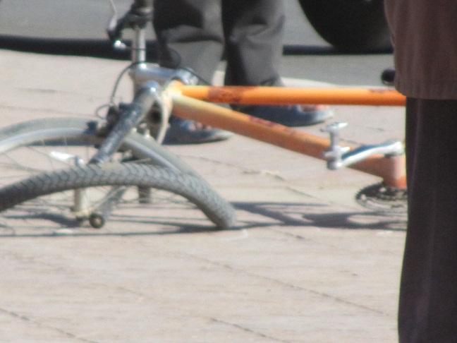 حادثة سير تصيب صاحب دراجة بزاكورة