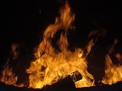 حريق بمعمل للنسيج بعين حرودة