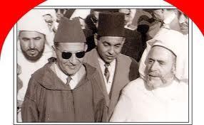 زيارة جلالة المغفور له محمد الخامس الى محاميد الغزلان