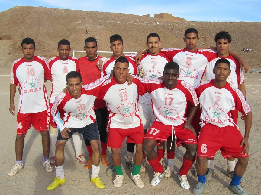 تأهل فريق أجيال درعة لنصف نهائي دوري بومالن دادس