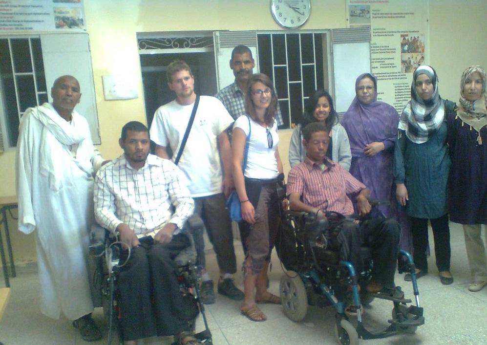 رؤية لرالي Olibya Maroc 2012 : من جانبه الإنساني