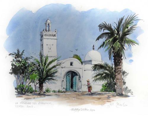 نــداء  لبناء مسجد  بحي التضامن بزاكورة