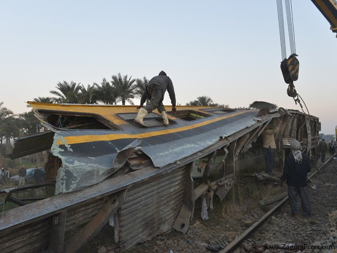 مصر: حادث خامس لقطار خلال أربعة أشهر