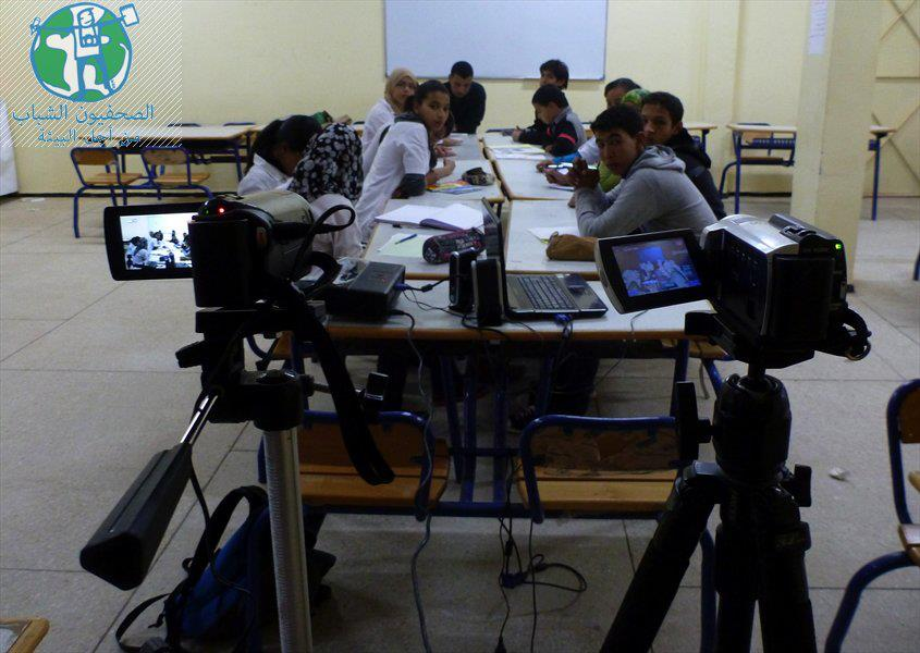 فوز النادي البيئي لثانوية احمد بن ناصر بجائزة الصحفيون الشباب لأجل البيئة لمؤسسة محمد السادس لحماية البيئة