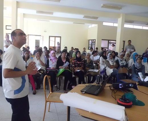 جمعية أصدقاء البيئة بزاكورة تحل بثانوية سيدي احمد بناصر التأهلية