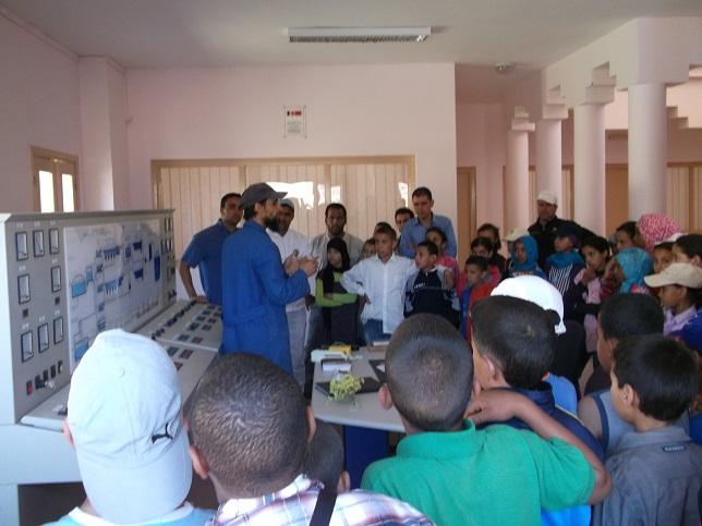 مجموعة مدارس النقوب تنظم رحلة مدرسية الى ورزازات