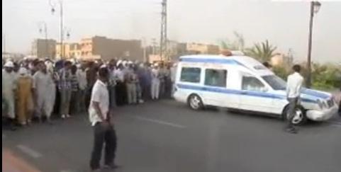 """اعمال عنف بعد المسيرة الإحتجاجية التي تلت دفن """"رقية العبدلاوي"""""""