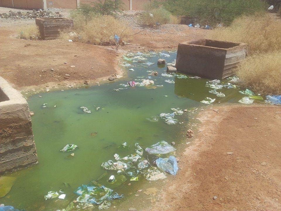 سكان تجزئة درعة 2 بزاكورة تعاني غياب الصرف الصحي
