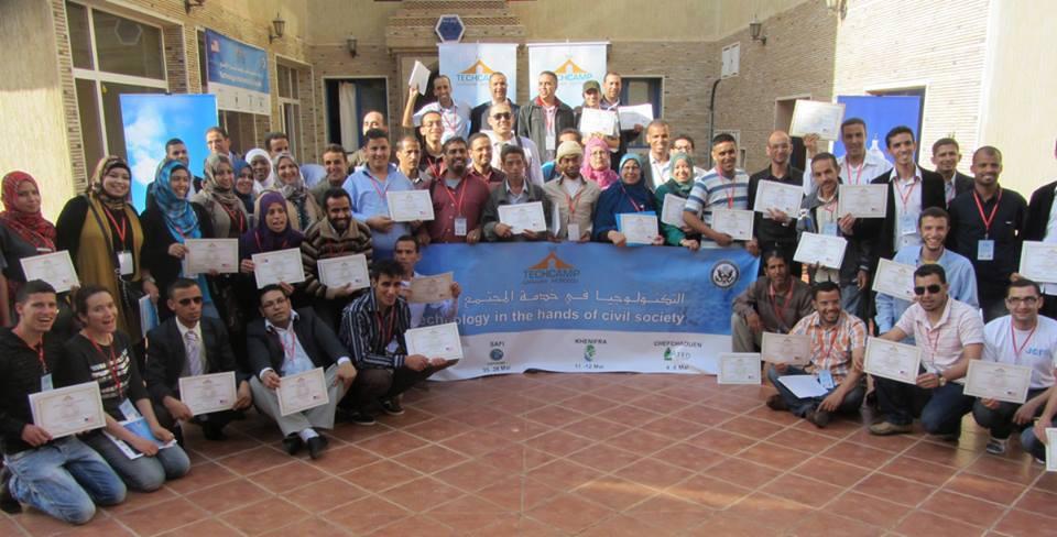 قافلة techcamps تختتم بمدينة سيدي إفني