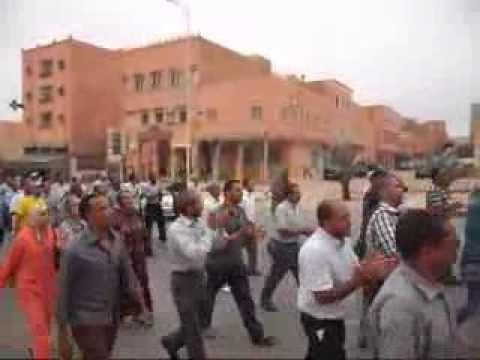 ٌإقتحام نيابة التعليم بالرشيدية إحتجاجا على توقيف 19 أستاذا