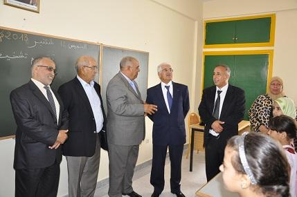 والي جهة سوس يشرف على انطلاق الدخول المدرسي بأكادير