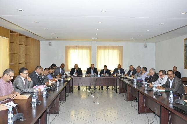 قضايا التعليم محور اجتماع اللجنة الجهوية بمجلس جهة سوس ماسة درعة