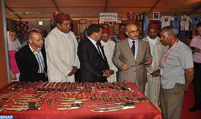 ورزازات: افتتاح فعاليات المعرض الجهوي للصناعة التقليدية