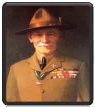 التربية العسكرية في حياة مؤسس الكشفية
