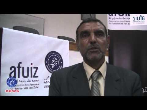 نساء جامعة ابن زهر بأكادير يستضفن الدكتور الفايد محمد أخصائي علوم التغذية