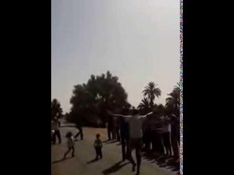 إحتجاجات ساكنة الركابي – امحاميد الغزلان