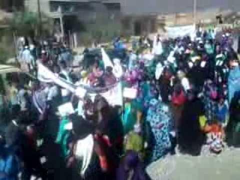 استمرار المسيرات الاحتجاجية بجماعة أولاد يحيى لكراير
