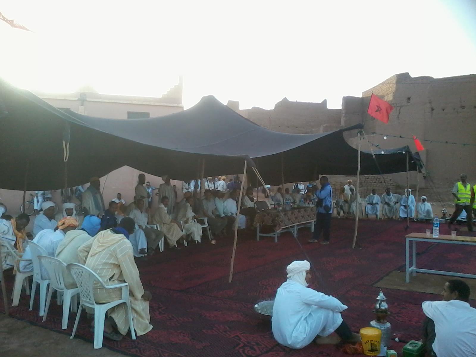 جمعية قصر امحاميد الغزلان للثقافة والتنمية والشؤون الإجتماعية تنظم حفلا اجتماعيا وتربويا
