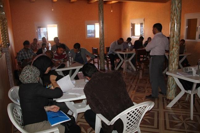 الخلية الإعلامية لجمعية الشباب المواطن للتنمية البشرية بتنغير تنظم دورة تكوينية