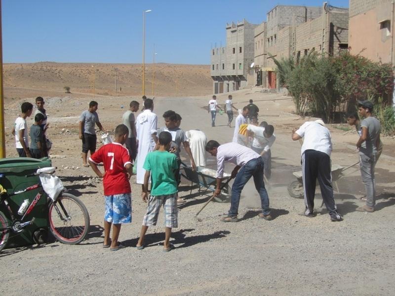 زاكورة : حملة تحسيسية للنظافة قبيل عيد الأضحى