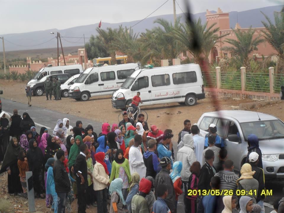 إحتجاجات أولاد يحيى لكراير تبلغ يومها العشرين دون حل
