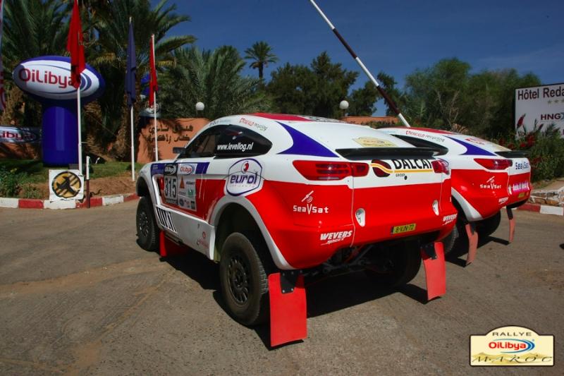 """رالي """"أويل ليبيا المغرب 2013"""": الأرجنتيني تيرانوفا يفوز بالمرحلة الأولى"""