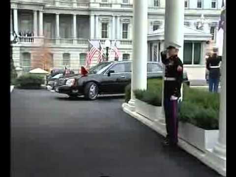 لقاء جلالة الملك بالرئيس الامريكي