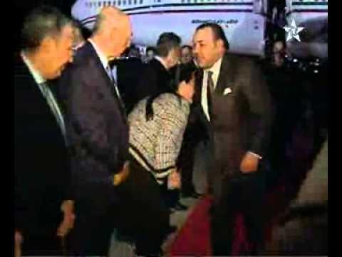 بداية زيارة جلالة الملك لواشنطن للقاء اوباما