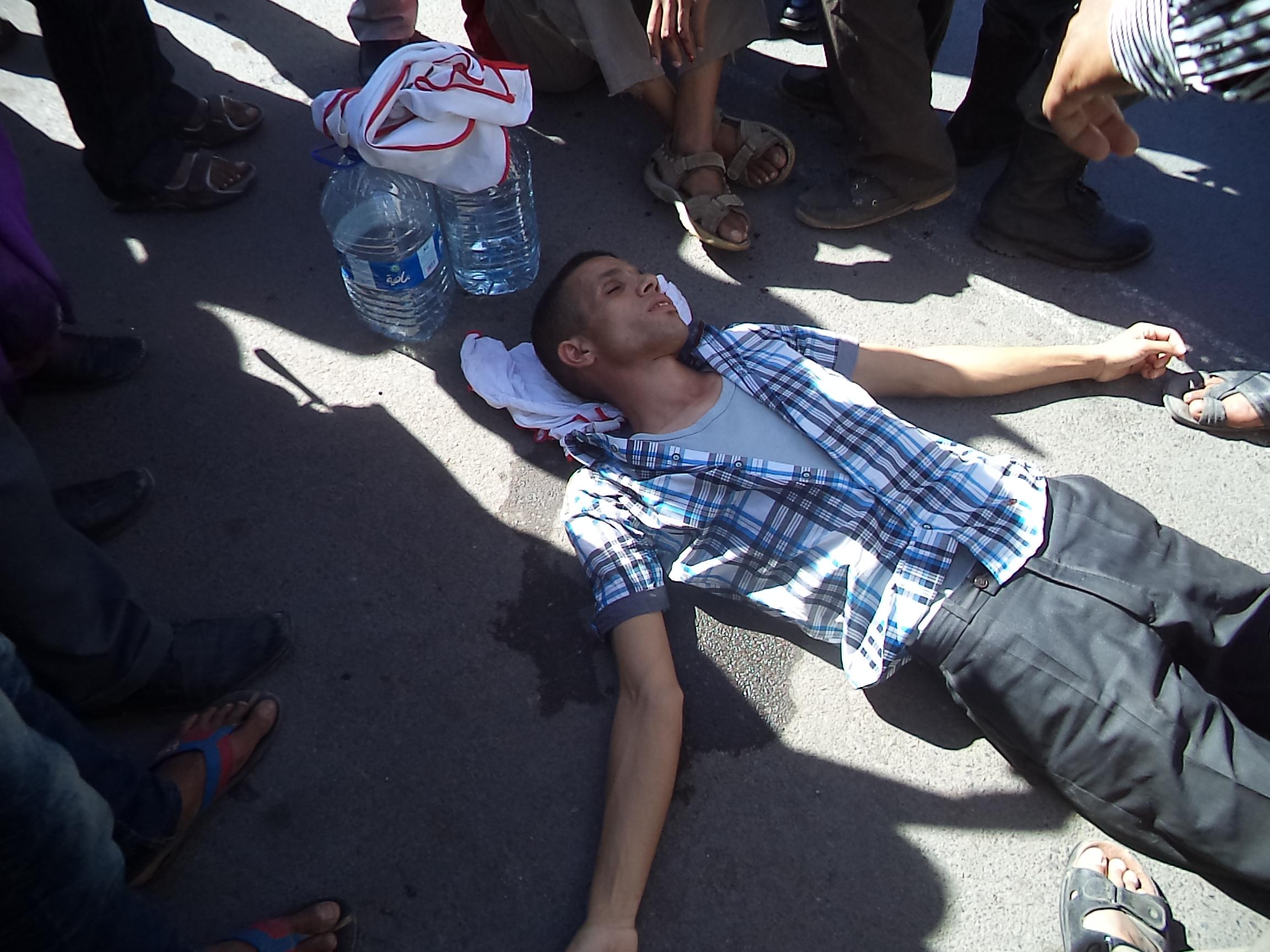تدخل القوات العمومية لتفريق احتجاجات  الجمعية الوطنية وساكنة الوداديات المتضررة