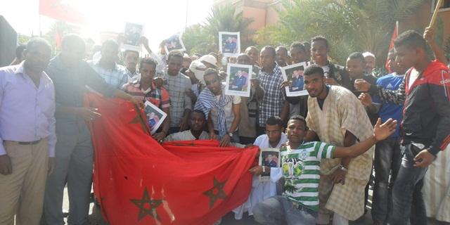 """وقفة احتجاجية ضد الاقصاء العنصري ل""""ضراوة"""" في توزيع الاراضي الفلاحية"""