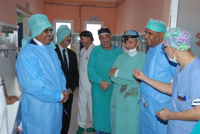 حملة طبية لمؤسسة ورزازات الكبرى بمدينة زاكورة