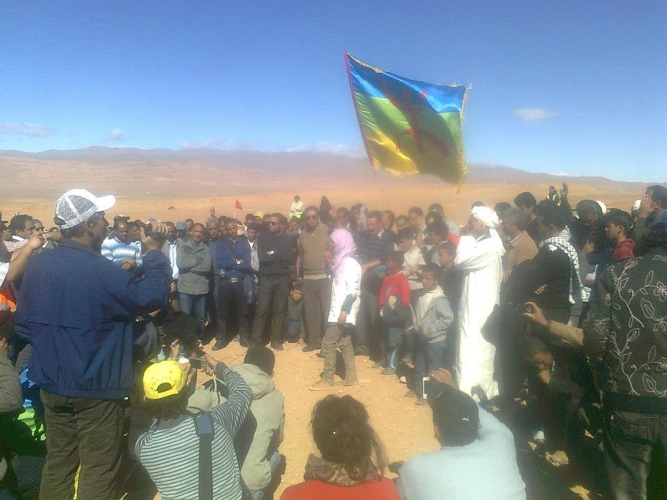"""اليوم العالمي لحقوق الانسان و سكان جماعة اميضر فوق جبل """"ألبـــــّان"""" لليوم 863"""
