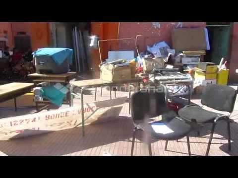 نقل وتبديد تجهيزات ومعدات منظمة الهلال الاحمر المغربي فى ظروف غامضة