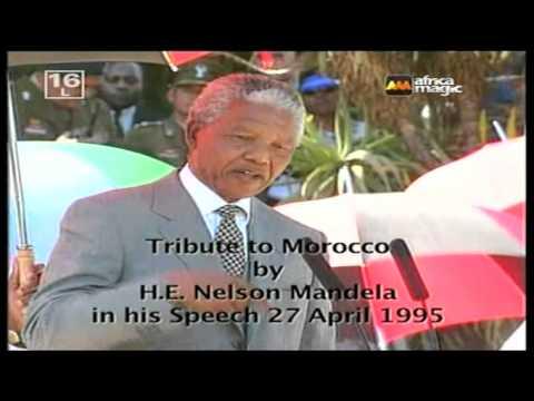 نيلسون مانديلا يبرز دور المملكة المغربية في استقلال جنوب إفرقيا