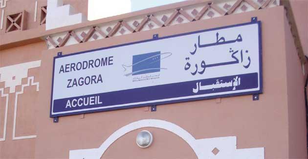 إطلاق الرحلة الافتتاحية للخط الجوي بين الدار البيضاء وزاكورة