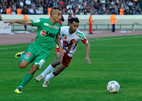 الرجاء البيضاوي نهج أسلوبا جيدا في مواجهة فريق كبير وقوي جدا