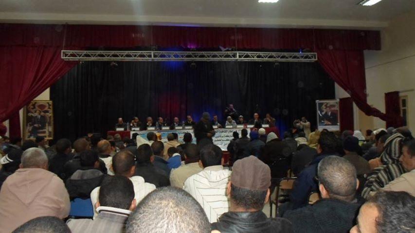 القافلة الجهوية لبرلماني حزب العدالة والتنمية تحط الرحال بتنغير