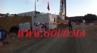 حفر أول بئر للغاز الطبيعي بجماعة مجي اقليم الصويرة