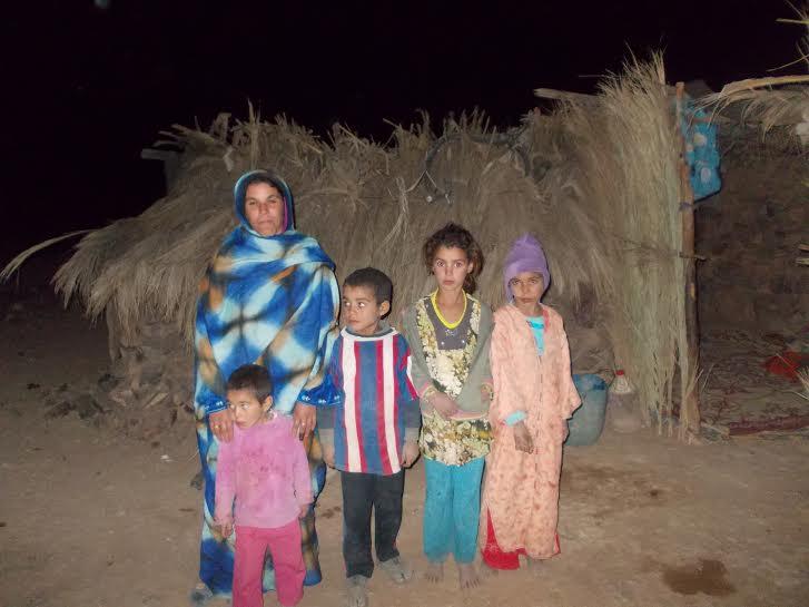 محنة ماما مسكور و أولادها لا زالت مستمرة مع كوخ النخيل