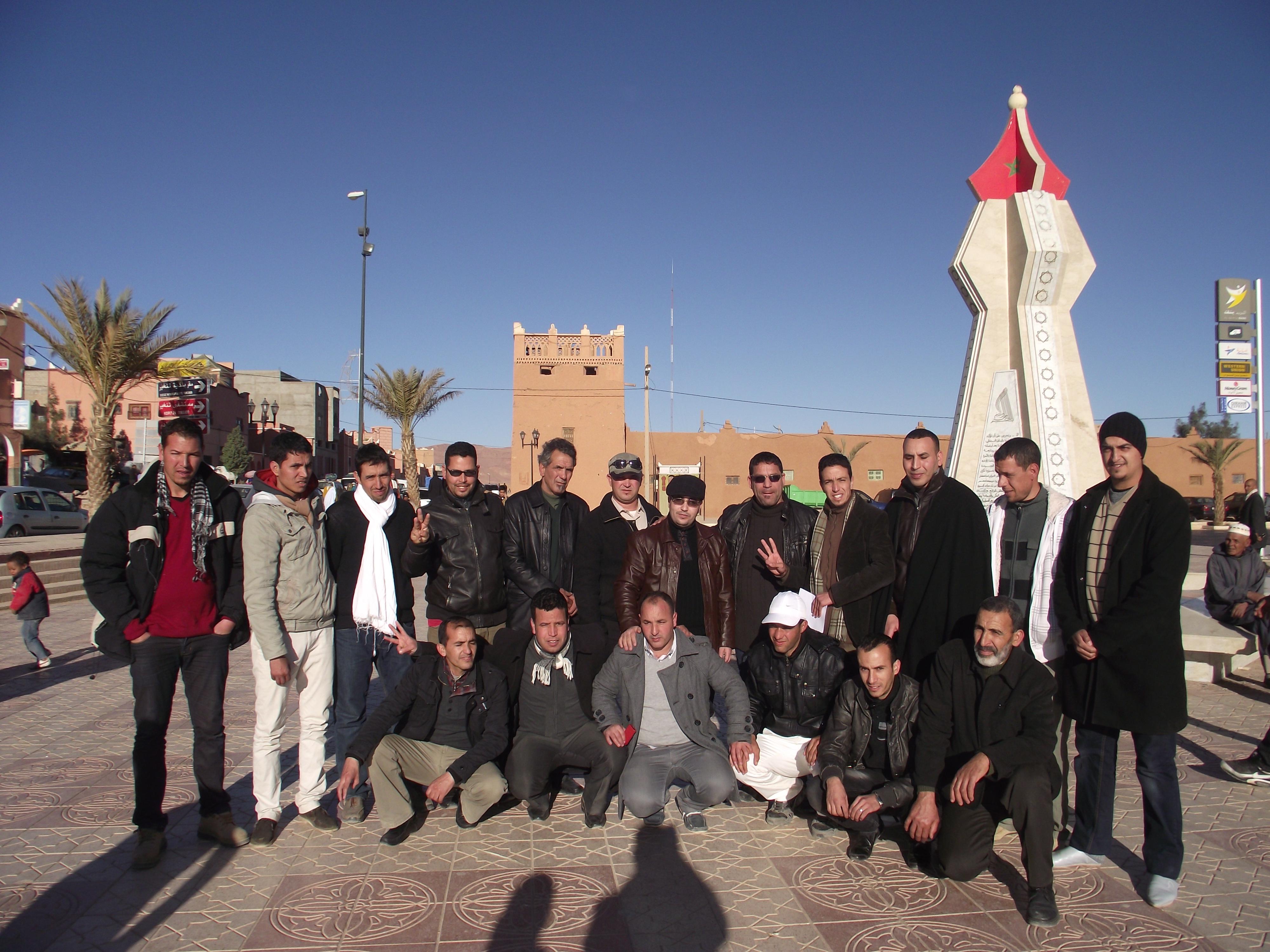 """تنغير : إطلاق سراح  المعتقلين والناشطين الامازيغيين """" جمال واسو    و """" الحسين ايت باها """""""
