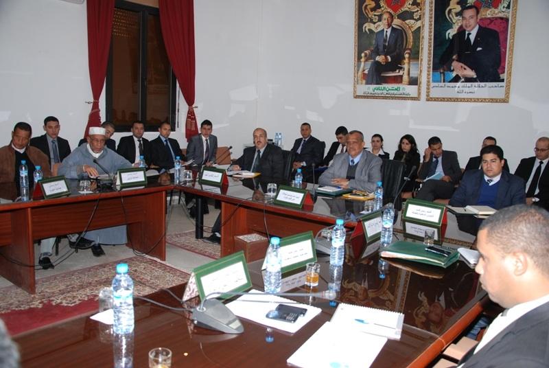 لقاءات تواصلية لمواكبة حاجيات الجماعات الترابية باقليم زاكورة