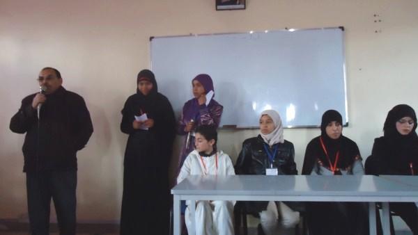 """الثانوية التأهيلية سيدي محمد بن عبد الله لقاء تحسيسي حول """" ظاهرة الغش في الامتحان"""""""